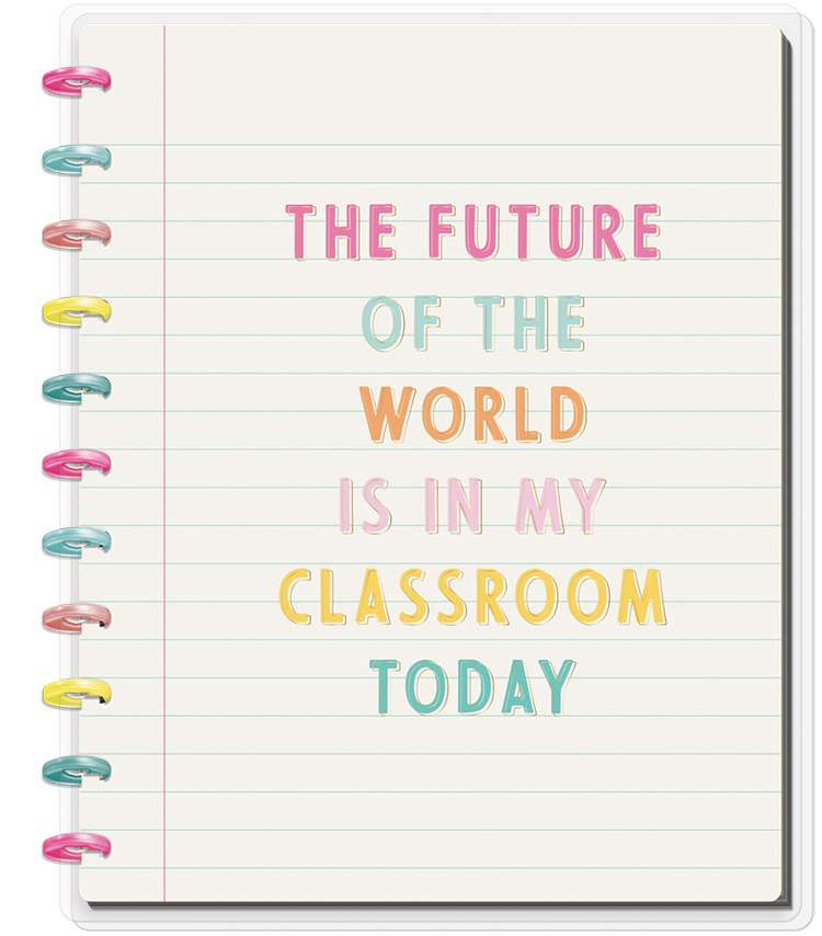 BIG Happy Notes® Notebook - Future Of The World Main Image