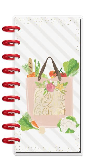 Classic Half Sheet Happy Planner® Notebook - Foodie Main Image